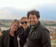 Budapest Walking Tour. Castle Hill view.