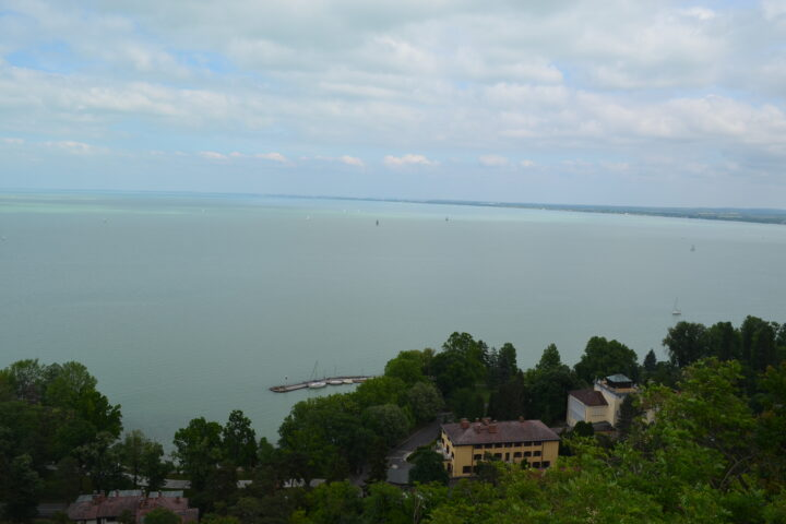 View over the Balaton, Tihany, Lake Balaton castles and palaces Private Tour by Julia Kravianszky