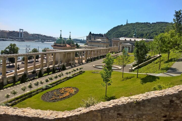 The Buda Castle Garden Bazaar. Buda Castle Walk - Buda Walking Tour