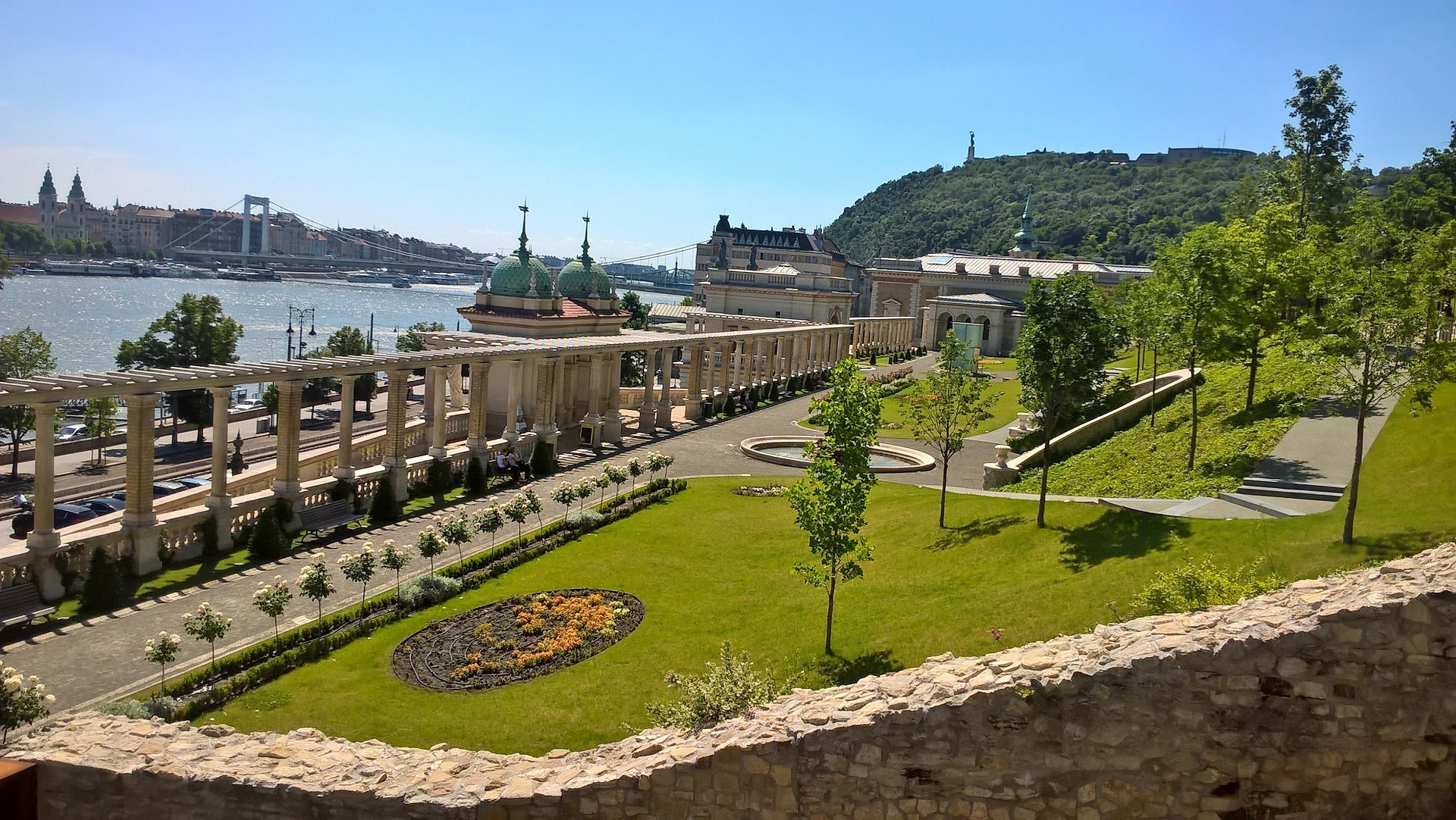 The Buda Castle Garden Bazaar. Buda Castle Walk - Buda Walking Tour